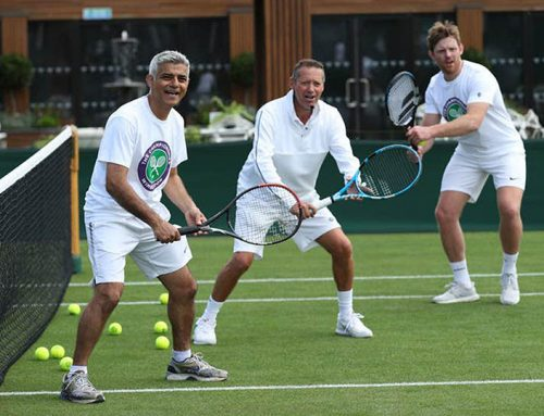 Wimbledon throws on tennis lessons to thank key workers