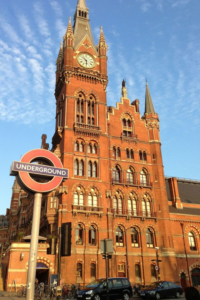 St Pancras Station, North London