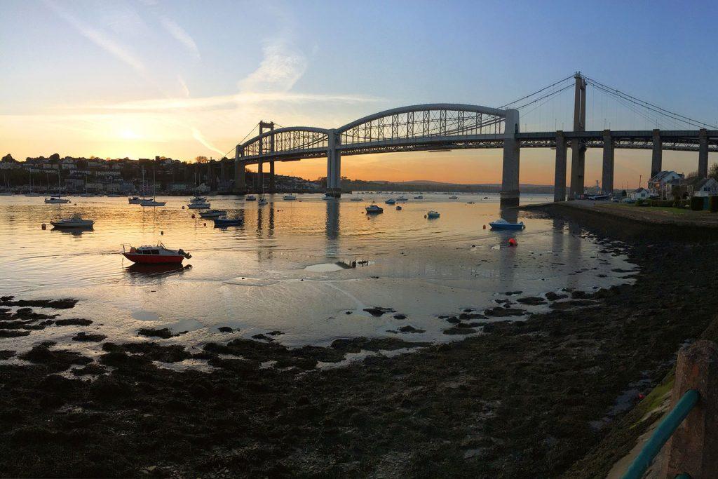 Tamar Bridge, Plymouth, Devon, South West England